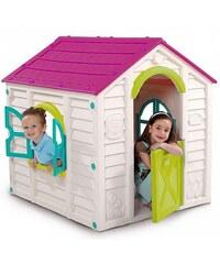 Dětský plastový domeček Rancho Play House, béžový
