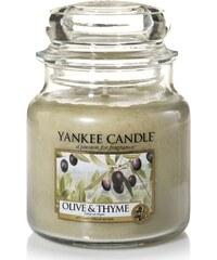 Yankee Candle Olive et Thym - Bougie parfumée
