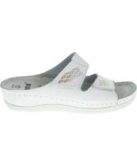 Jana dámské pantofle 8-27211-26 bílé