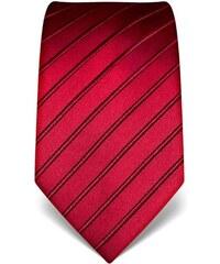 Luxusní vínová kravata Vincenzo Boretti 21913