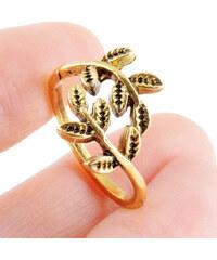 Lesara Ring im Zweig-Design - Gold
