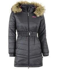 Dívčí zimní kabát ALTISPORT OLLIE-J ALLW15006 ČERNORŮŽOVÁ