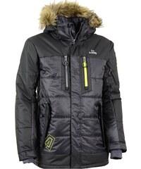 Pánský zimní kabát ALTISPORT BERYL ALMW15012 ŠEDO