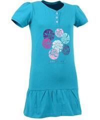 Dětské šaty ALPINE PRO IBO 2 TYRKYSOVÁ