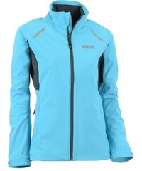 Dámská běžecká bunda NORDBLANC PERFECT NBSSL5511 BAZÉNOVĚ