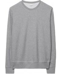 GANT Diamond G Sweat-shirt Ras Du Cou - Light Grey Melange