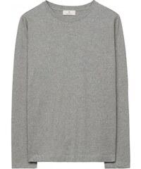 GANT Diamond G T-shirt à Manches Longues - Cobblestone Melange