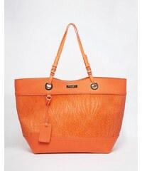 Carvela - Fourre-tout tressé style cabas - Orange