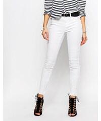 JDY - Jean skinny - Blanc