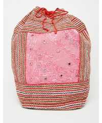 Raga - Sac à dos en toile à cordon de serrage - Multi