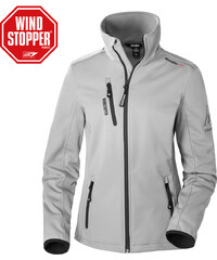 Gaastra Softshell veste Boston wn gris Femmes