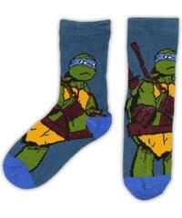 E plus M Chlapecké ponožky Želvy Ninja - modré