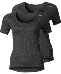 Odlo Cubic 2 Pack W T-shirt ebony grey/black