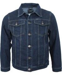 ATM JEANS bunda pánská riflová džíska nadměrná velikost