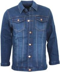 TOLS JEANS bunda pánská džíska nadměrná velikost
