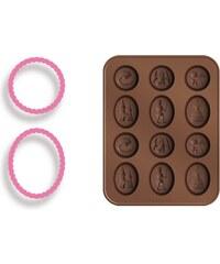 TESCOMA formičky na čokoládu s vykrajovátky DELÍCIA KIDS, pohádka