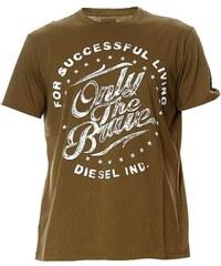 Diesel T-BALDER - T-shirt - kaki