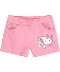 Hello Kitty Shorts pink in Größe 98 für Mädchen aus 80% Baumwolle 15% Polyester 5% Elasthan