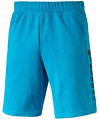 Puma FUN BIG LOGO SWEAT SHORT modrá S