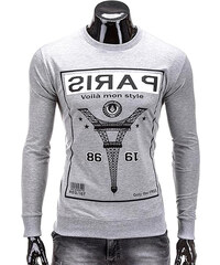 Lesara Sweatshirt avec imprimé Tour Eiffel