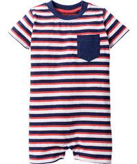 bpc bonprix collection Baby Kurzarm-Overall Bio-Baumwolle, Gr. 56/62-92/98 in weiß von bonprix