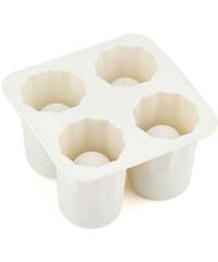 Lesara 3er-Set Eiswürfelform Schnapsglas - Weiß