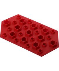 Lesara Eiswürfelform Diamant - Rot