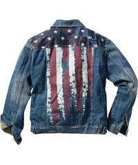 RAINBOW Veste en jean Regular Fit bleu manches longues homme - bonprix