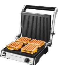 UNOLD® Kontakt-Grill Steak 58526, mit kratzunempfindlicher Antihaftbeschichtung, 2000 Watt