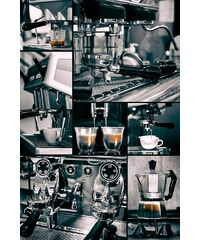Home affaire Deco Panel »Wer will Kaffee?«, 60/90 cm