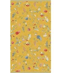 Strandtuch Studio Hummingbirds mit Blütenranken PIP STUDIO gelb 1xStrandtuch 100x180 cm