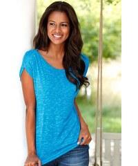 Damen T-Shirt mit Schulterraffung Lascana grün 32/34,36/38,40/42,44/46