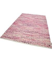 Tom Tailor Teppich Diamond handgearbeitet Wolle rot 11 (B/L: 85x155 cm),2 (B/L: 65x135 cm),3 (B/L: 140x200 cm),4 (B/L: 160x230 cm),6 (B/L: 190x290 cm)