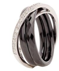 Ceraluxe Meli Melo Noir - Ring - schwarz