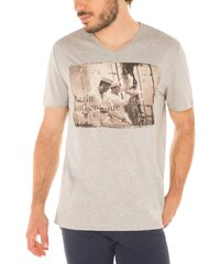 Mister Marcel T-Shirt - grau meliert