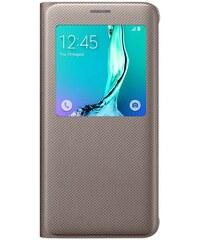 Inkasus Etui type S-View bronze pour Galaxy S6 Edge Plus - taupe