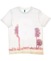 Benetton T-shirt - ecru