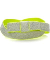 Benetton Gürtel elastisch - gelb
