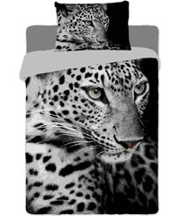 Jerry Fabrics Povlečení fototisk Leopard 2016 140x200 70x90