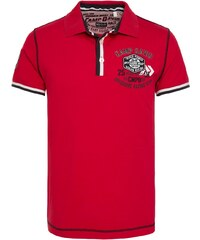 Pánské červené polo tričko CAMP DAVID