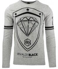 Pánské tričko Elekid šedé - šedá