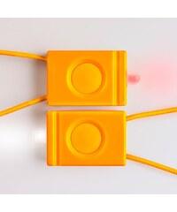 BOOKMAN blikačka - sada přední a zadní (oranžová)