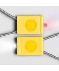 BOOKMAN blikačka - sada přední a zadní (žlutá)