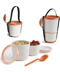 Black - Blum Lunch Pot - svačinový box (oranžová)