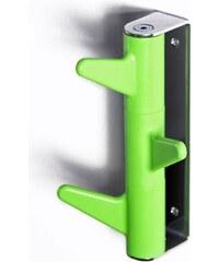 INNO OKA C3 - nástěnný věšák - 3 háčky (zelený)