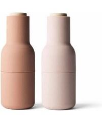 MENU Mlýnek na sůl a pepř Bottle od Menu, set 2ks, růžový