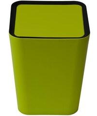 Quali Odpadkový koš Mini Square Flip Bin, malý, zelený