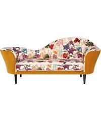 Gubi Pohovka Grand Piano Sofa (žlutá květovaná)