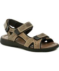 Patrizia Azzi Arizona 1875-16 hnědé pánské sandály