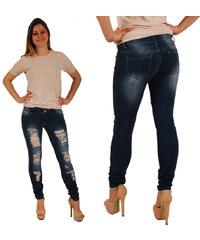 Lesara Destroyed-Jeans im 5-Pocket-Design - S